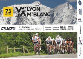 LYON Mt BLANC : 5 et 6 juin 2021